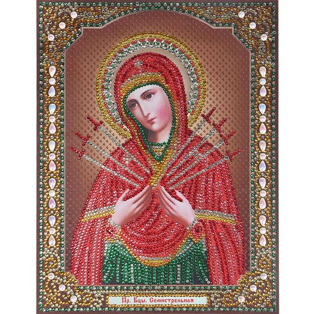 Bedazzled Diamond Painting - Religion - 8 - Floating Styles - Diamond Embroidery - Paint With Diamond