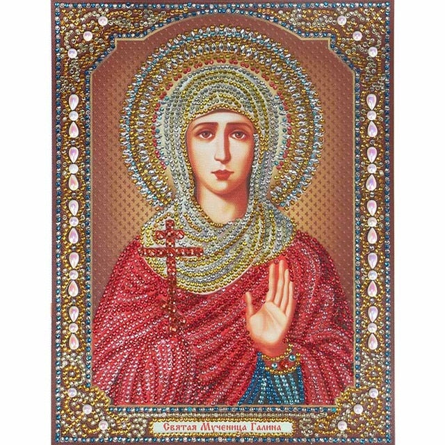 Bedazzled Diamond Painting - Religion - 4 - Floating Styles - Diamond Embroidery - Paint With Diamond