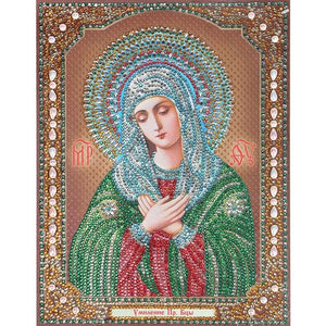 Bedazzled Diamond Painting - Religion - 1 - Floating Style - Diamond Haft - Paint With Diamond