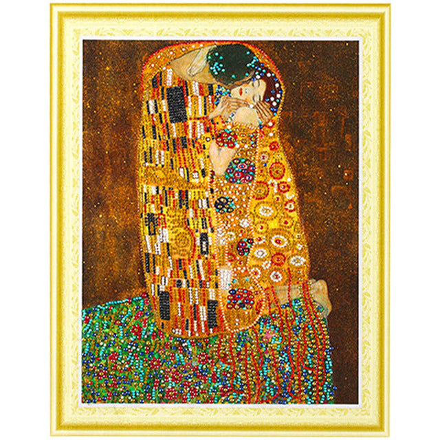 Bedazzled Diamond Painting - Woman's Love - Floating Style - Diamond Haft - Paint With Diamond