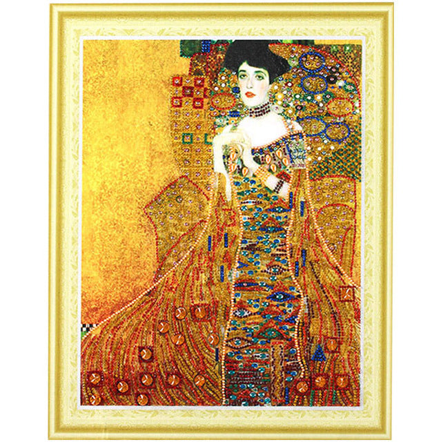 Bedazzled Diamond Painting - Woman - Floating Styles - Diamond Embroidery - Paint With Diamond