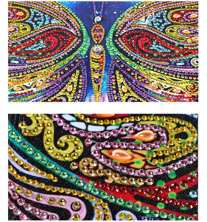 Bedazzled Diamond Painting - Wolf - Floating Styles - Diamond Embroidery - Paint With Diamond