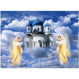 Diamond Painting - Heaven - Floating Styles - Diamond Embroidery - Paint With Diamond