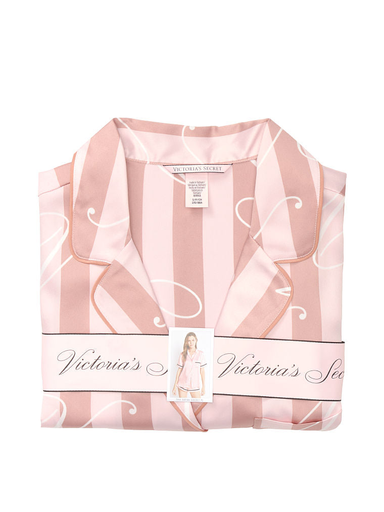 VICTORIA'S SECRET NEW! Satin Short PJ Set
