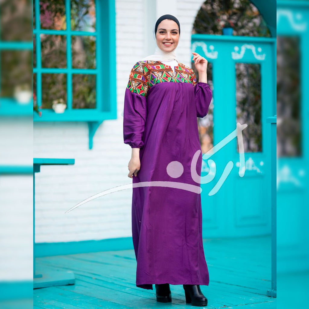 New elegant cotton abaya
