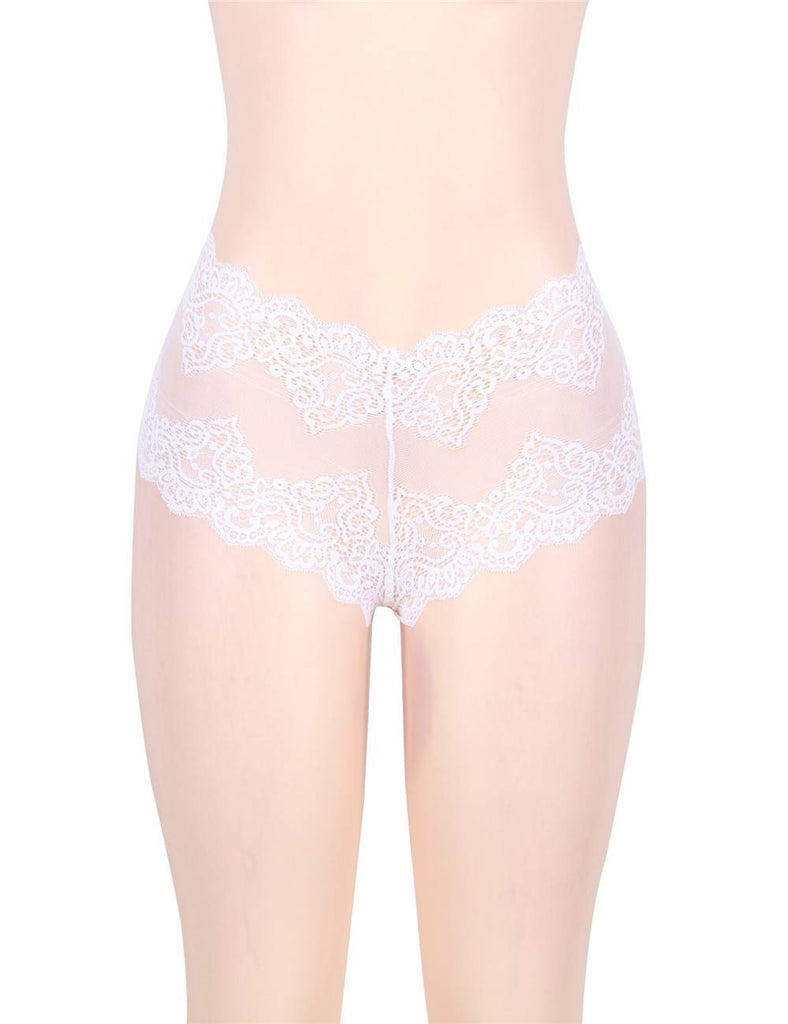 Sexy High Waist Floral Lace Panty