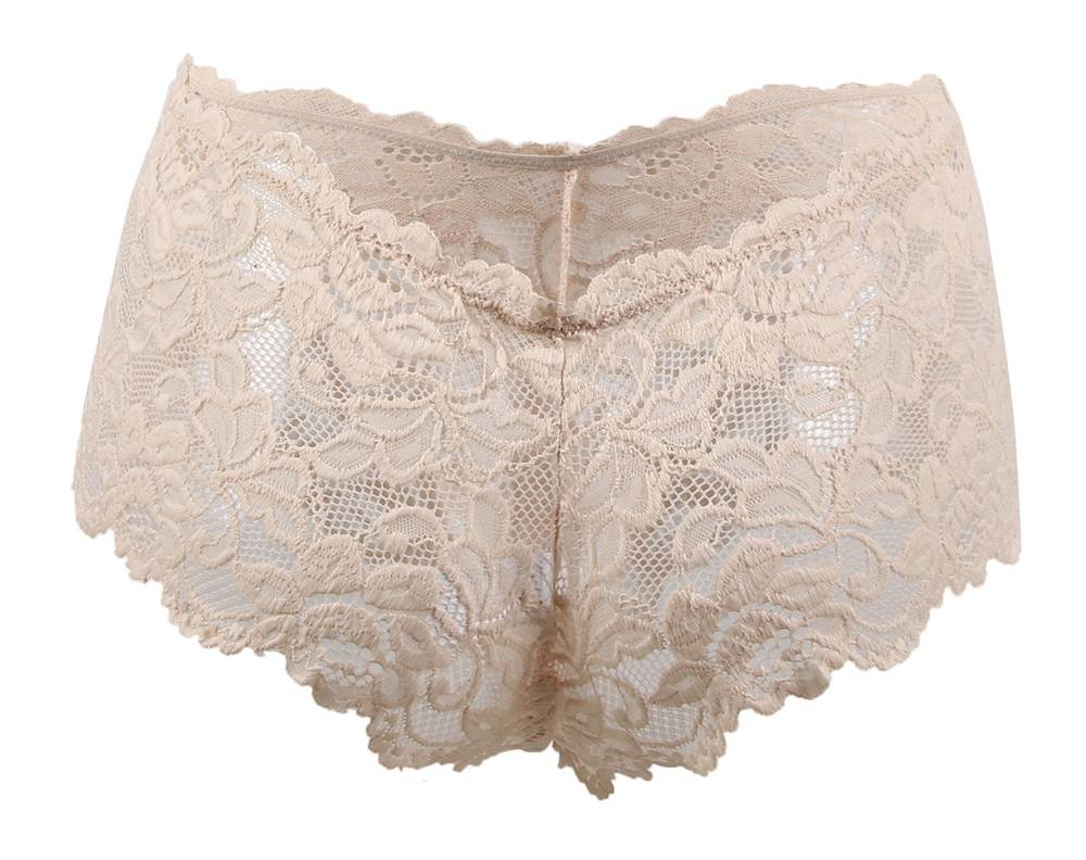 Nude Sexy Floral Lace Panty