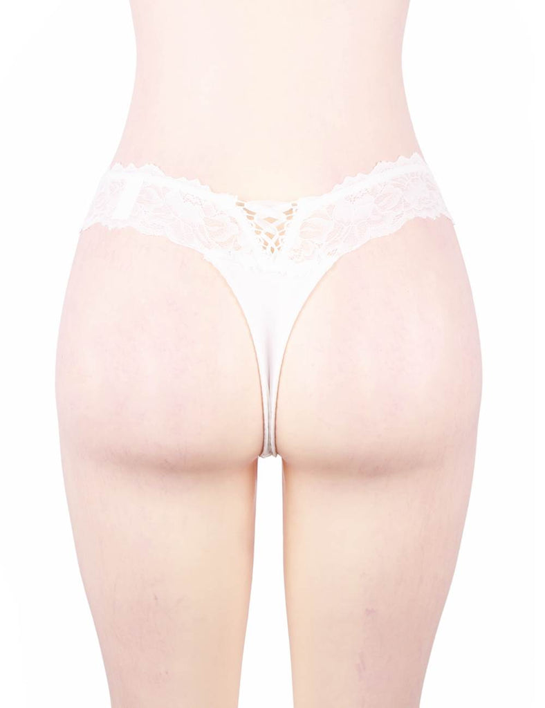 High Quality White Sexy Floral Lace Panty