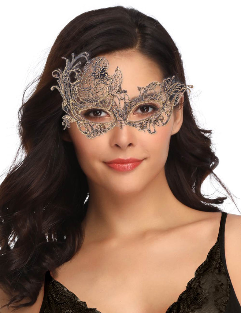 Glamorous Virgo Lace Constellation Eye Mask