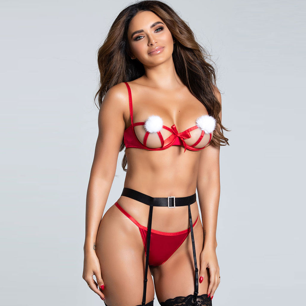 FARAWLAYA UP TO SNOW GOOD BRA SET