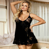 Soft Lace Babydoll with G-string