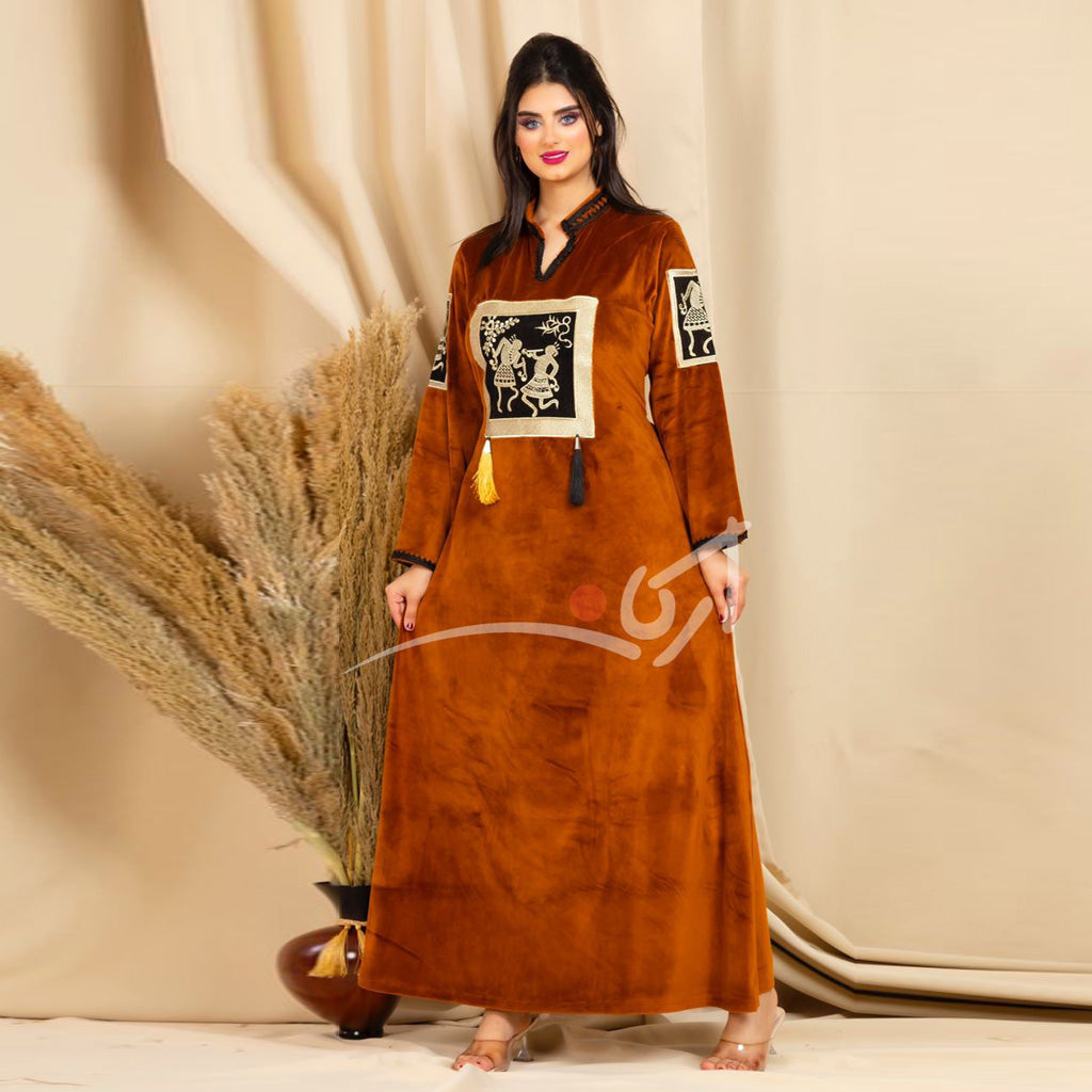 Abaya Katifa printed on the pictures of Pharaohs