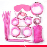 Pink Leather Bondage Adult Sexy Toys Sm Sexy Product