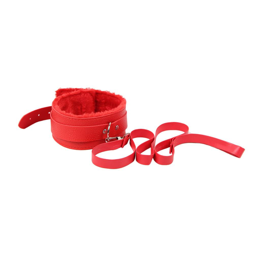 Red Leather Bondage Adult Sexy Toys Sm Sexy Product
