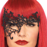Enchanting Black Lace Unilateral Eye Mask