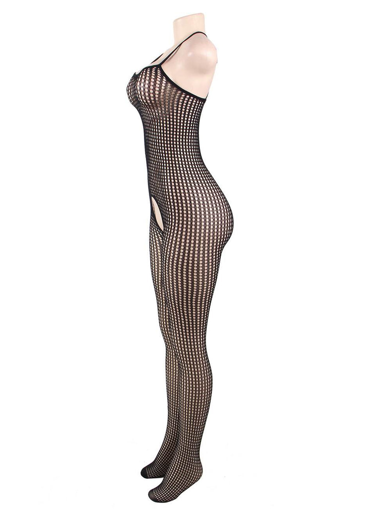 Passion Delicate Fishnet Stretchy Crotchless Bodystocking