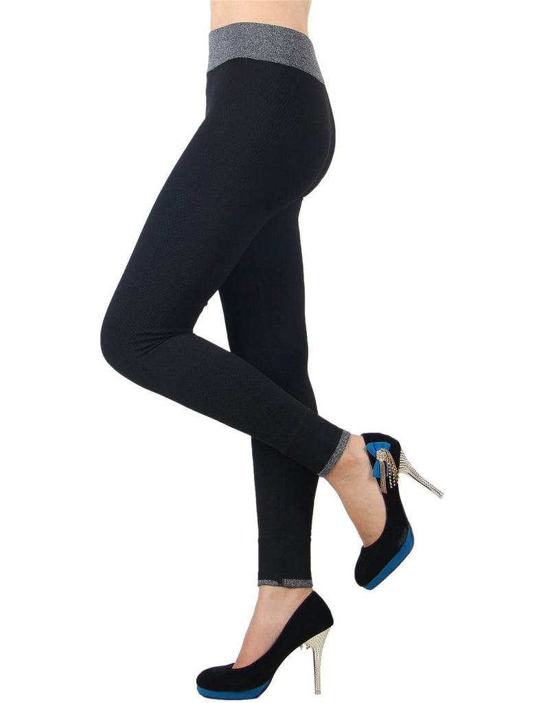 Black Fashion Women Fitness Leggings