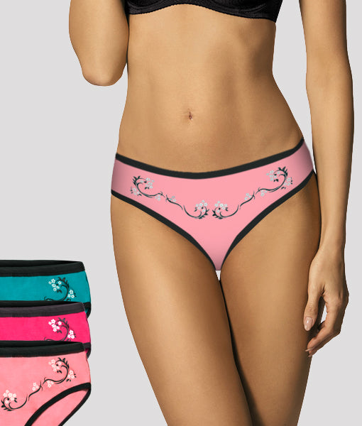 Nona Tex Panty 3 Different Colors