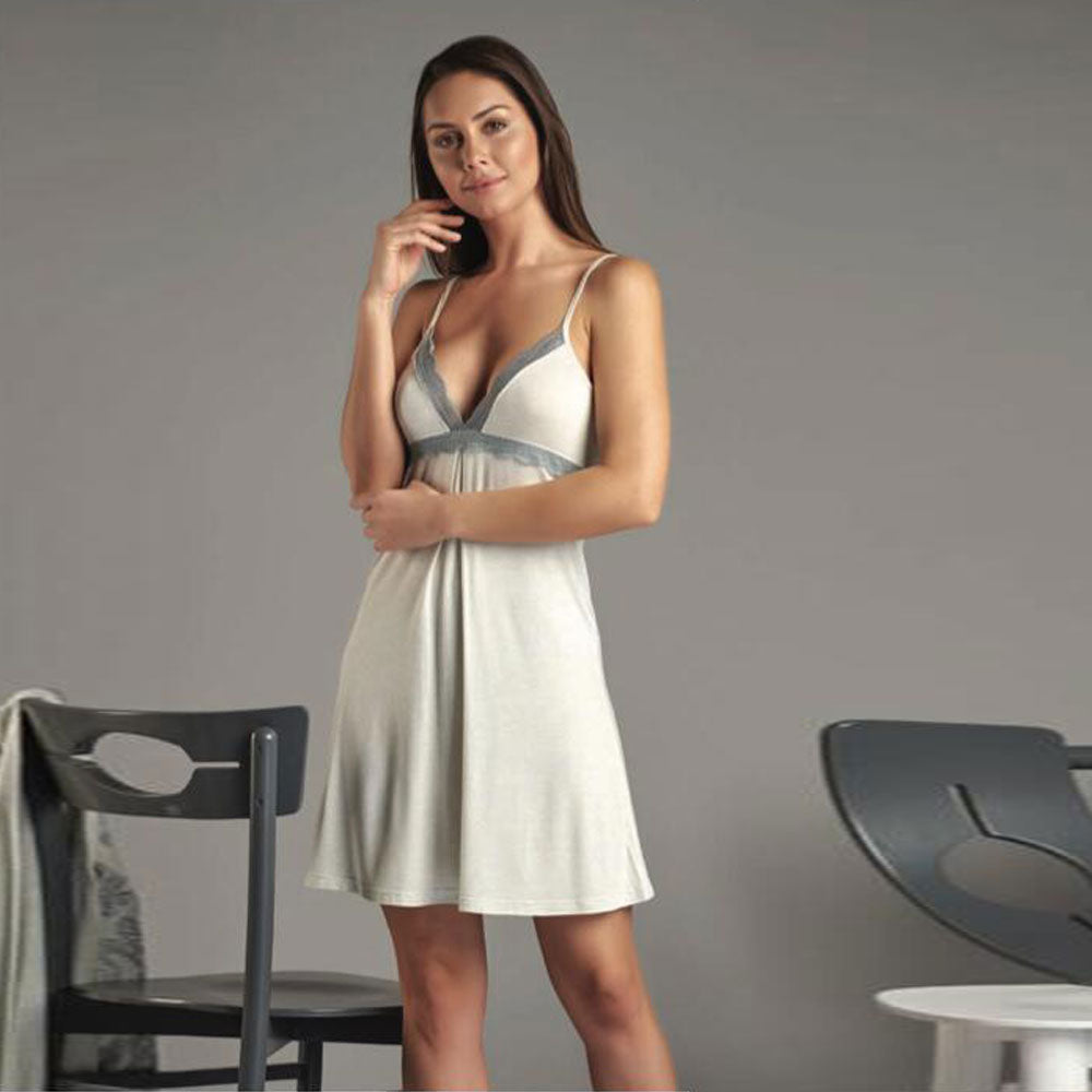 In Coming Bride Short Baby Doll With Robe
