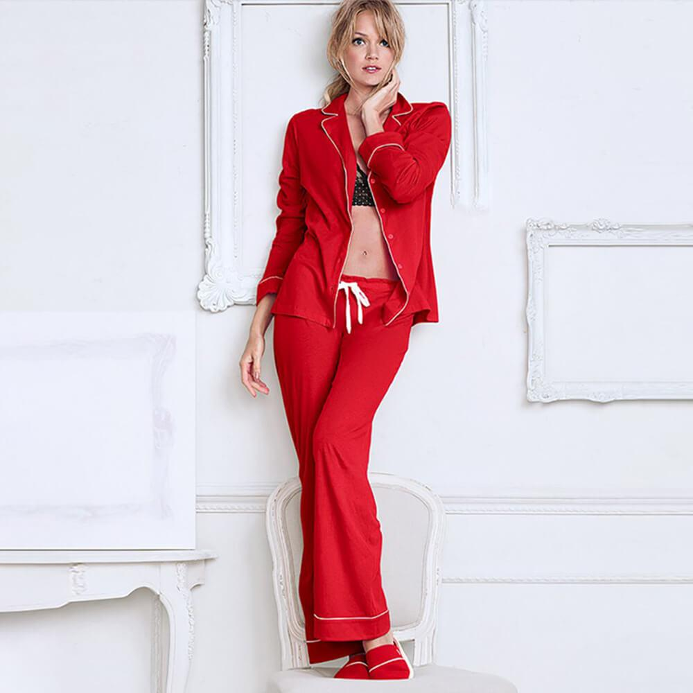 Comfortable Pajama pant Set long sleeves