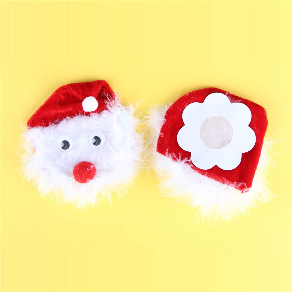 Santa Claus Nipple Stickers For Christmas