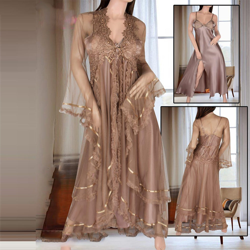 Chiffon Long Baby Doll