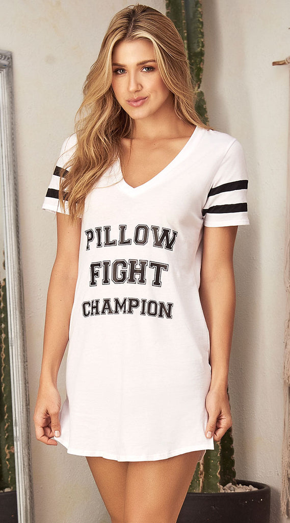 FARAWLAYAPILLOW FIGHT CHAMPION SLEEP SHIRT
