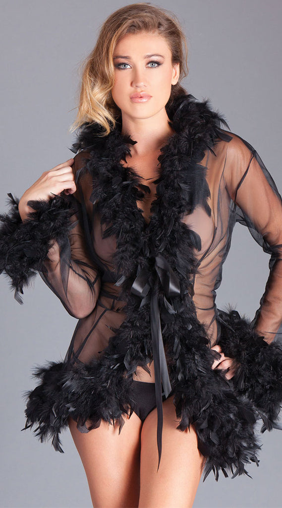 BIRDS OF A FEATHER ROBE