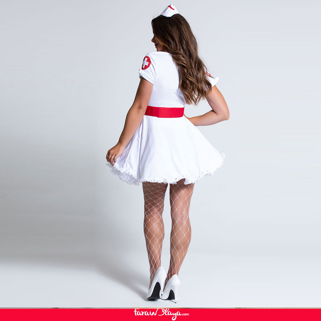 HEART BREAKER NURSE COSTUME