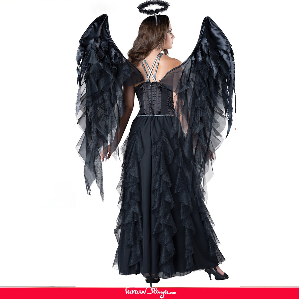 FARAWLAYA SEXY DARK ANGEL COSTUME