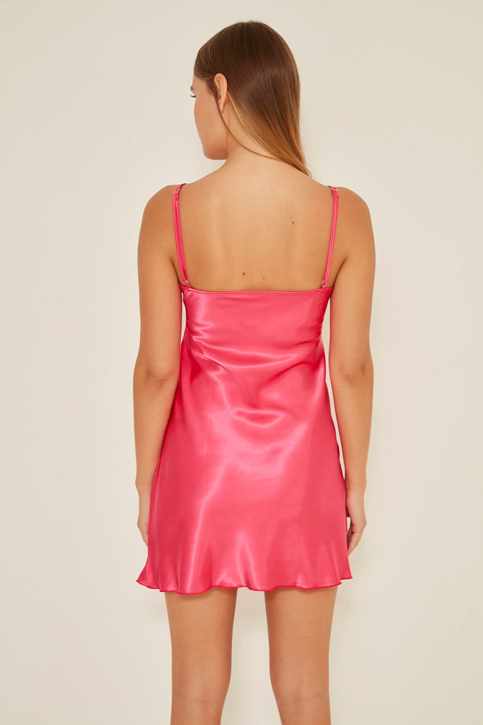 C&City Women Satin Nightgown