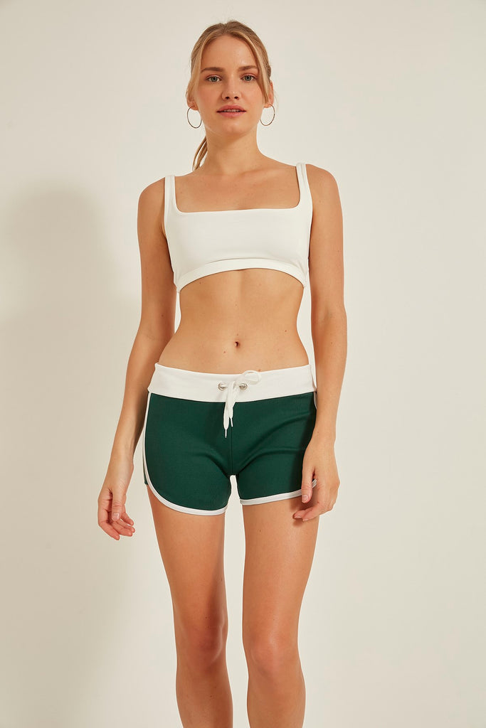 Women Knitted Sweatshort