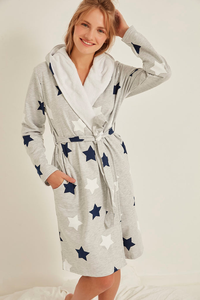 Women Satin Dressing Gown