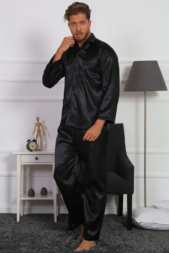 Gazzaz Men Men Satin Pyjama Set