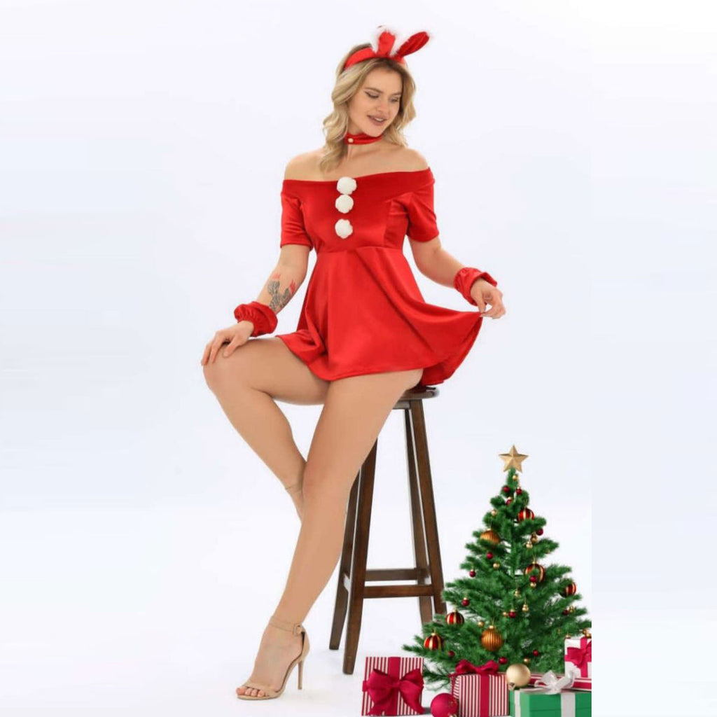 Christmas Day Womens Designer Theme Costume