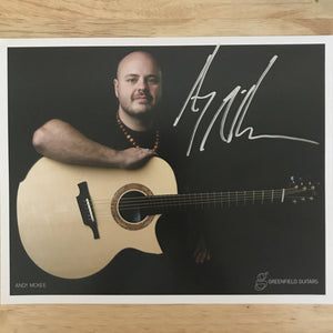 Andy McKee Signed Photo