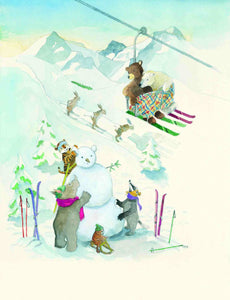 Artprint Ski Vacation