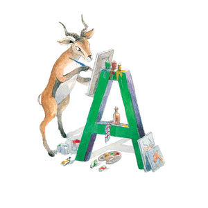 A for Antilope