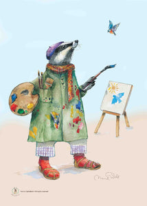 The Artistic Badger