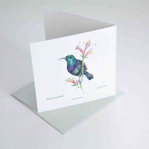 Palestine Sunbird Greeting card
