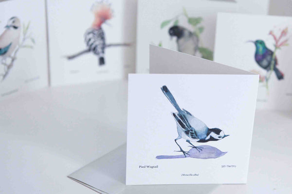 Hoopoe Greeting card