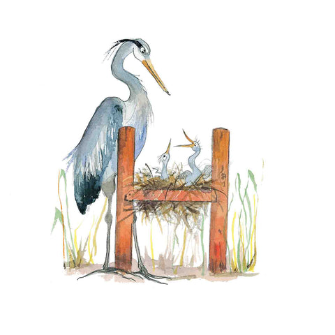 H for Heron