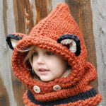 Winter Wool Knitted Animal Hats
