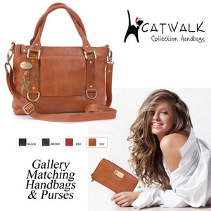 Luxury Leather Handbag and Purse Sets for Christmas