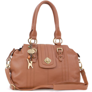 Kate - Twist Lock Shoulder Bag
