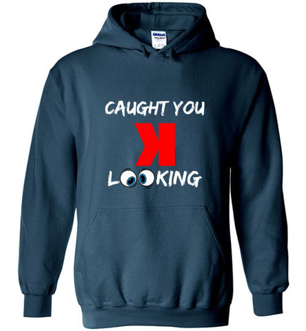 Caught you looking Hoodie - Hot-Bat Sports
