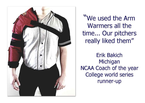 Pitchers arm Warmers by Hot-Bat - Hot-Bat Sports