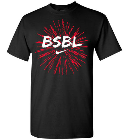 Fireworks t-shirt - Hot-Bat Sports