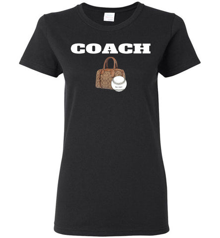 Ladies Coach t-shirts - Hot-Bat Sports