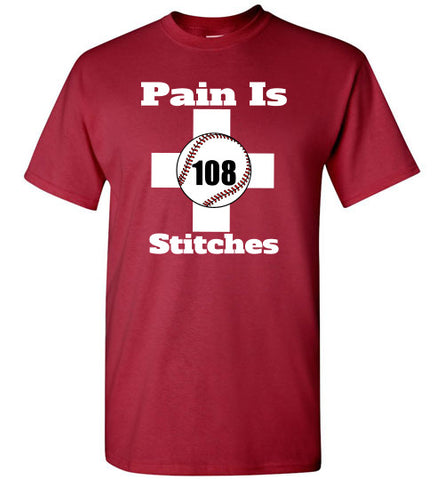 108 Stitches t-shirts - Hot-Bat Sports